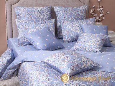 Постельное белье Дамаск платина, фото 2