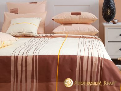 Постельное белье Горизонт мокко, фото 8