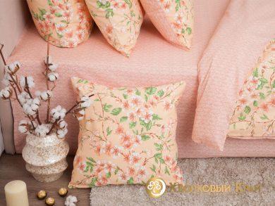 Постельное белье Сакура персик, фото 7