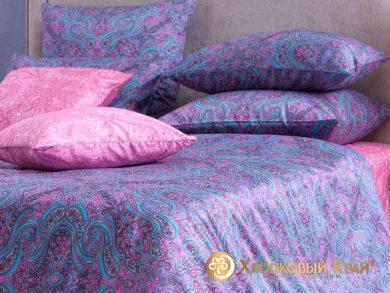 Постельное белье Турин фуксия, фото 7