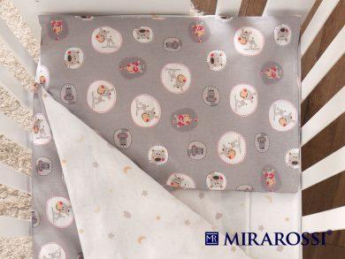 Постельное белье для новорожденных Amici grey, фото 2