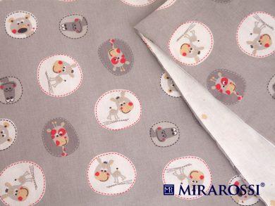 Постельное белье для новорожденных Amici grey, фото 4