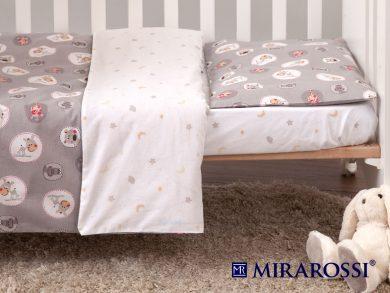 Постельное белье для новорожденных Amici grey, фото 6