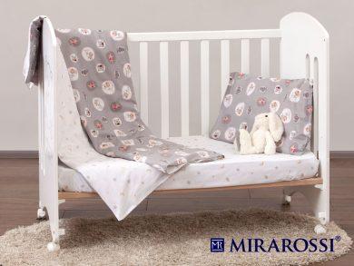 Постельное белье для новорожденных Amici grey, фото 7