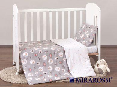 Постельное белье для новорожденных Amici grey, фото 9