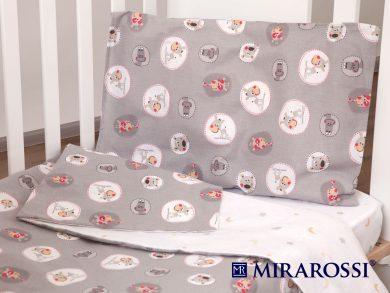 Постельное белье для новорожденных Amici grey, фото 10