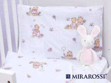 Постельное белье для новорожденных Bambine pink, фото 2