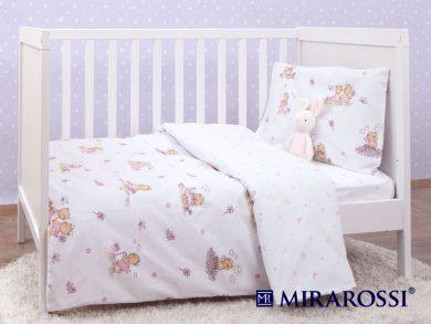 Постельное белье для новорожденных Bambine pink, фото 3
