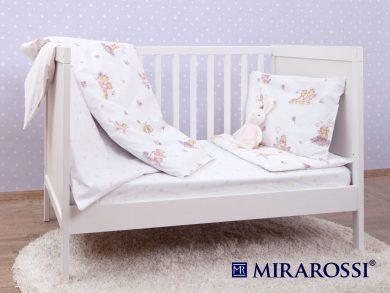 Постельное белье для новорожденных Bambine pink, фото 4