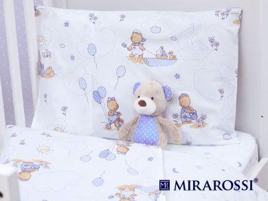 Постельное белье для новорожденных Bimbo blue, фото 2