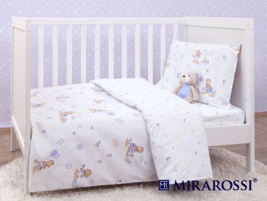 Постельное белье для новорожденных Bimbo blue, фото 3