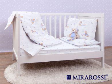 Постельное белье для новорожденных Bimbo blue, фото 4