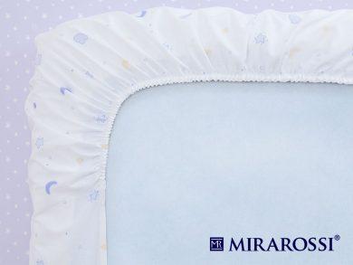 Постельное белье для новорожденных Bimbo blue, фото 5