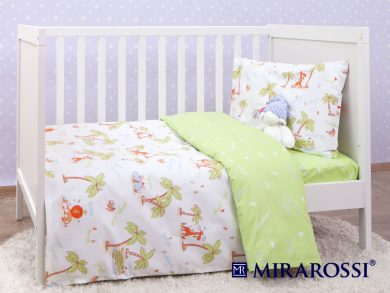 Постельное белье для новорожденных Джунгли, фото 3