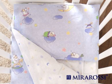Постельное белье для новорожденных Ninna Nanna blue, фото 2