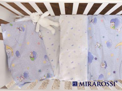 Постельное белье для новорожденных Ninna Nanna blue, фото 3