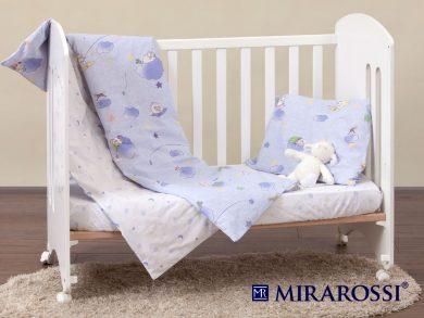Постельное белье для новорожденных Ninna Nanna blue, фото 7
