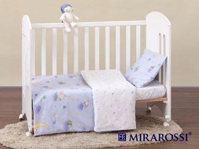 Постельное белье для новорожденных Ninna Nanna blue, фото 8