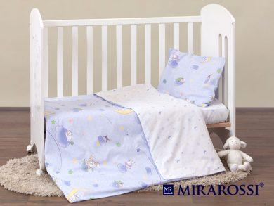 Постельное белье для новорожденных Ninna Nanna blue, фото 9