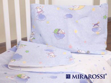 Постельное белье для новорожденных Ninna Nanna blue, фото 10