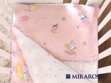 Постельное белье для новорожденных Ninna Nanna pink, фото 2