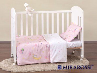Постельное белье для новорожденных Овечки розовые, фото 8