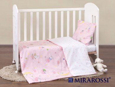 Постельное белье для новорожденных Овечки розовые, фото 9