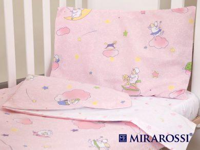 Постельное белье для новорожденных Овечки розовые, фото 10