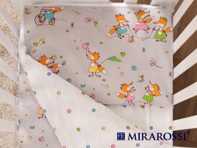 Постельное белье для новорожденных Лисички-Сестрички, фото 2