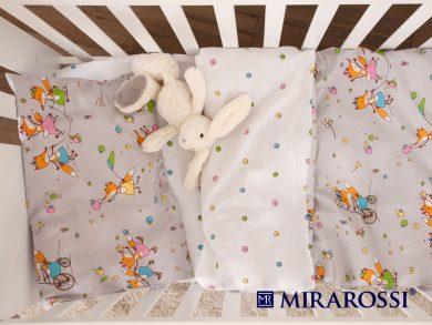 Постельное белье для новорожденных Лисички-Сестрички, фото 3