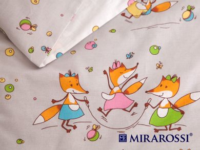 Постельное белье для новорожденных Лисички-Сестрички, фото 4