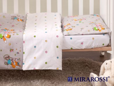 Постельное белье для новорожденных Лисички-Сестрички, фото 6