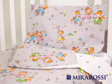 Постельное белье для новорожденных Лисички-Сестрички, фото 10