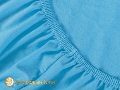 простыня на резинке Голубой, фото 2
