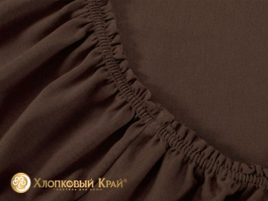 простыня на резинке Шоколад, фото 2