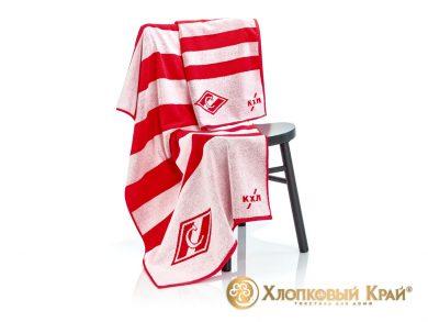 Полотенце банное 140х70 см Спартак ХК, фото 4