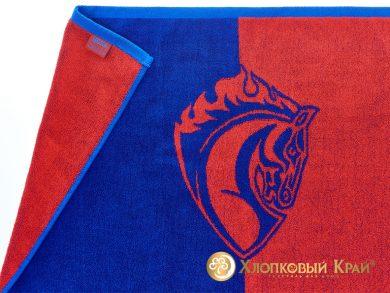 Полотенце для лица 40х70 см ЦСКА ПФК, фото 2