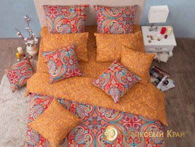 Постельное белье Анкара бургунди, фото 3