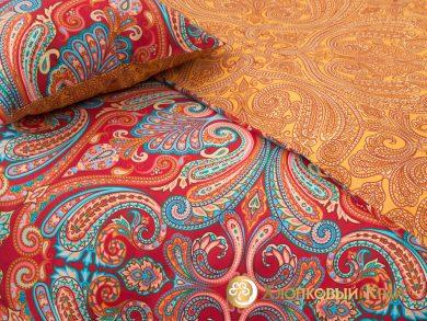 Постельное белье Анкара бургунди, фото 8