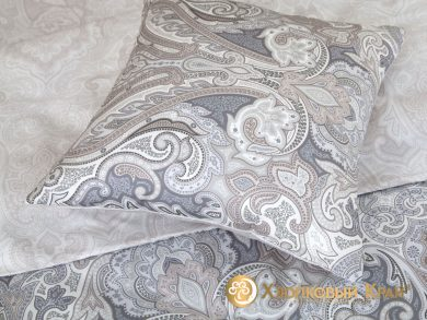 Постельное белье Болонья серебро, фото 5