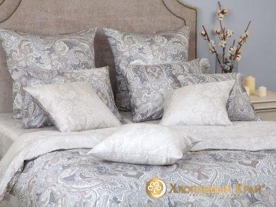 Постельное белье Болонья серебро, фото 6