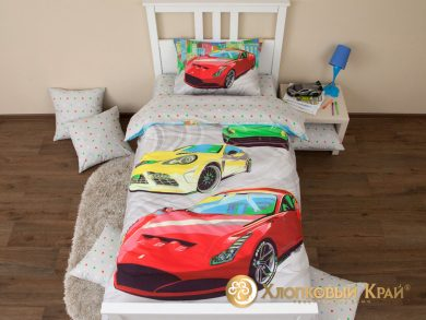 Детское постельное белье Тачки, фото 13