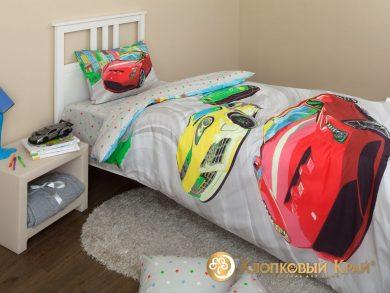 Детское постельное белье Тачки, фото 4