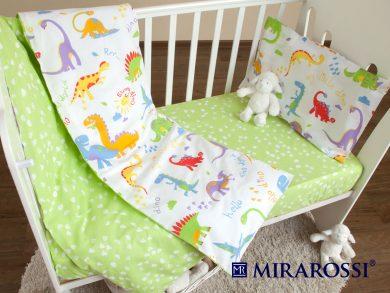 Постельное белье для новорожденных Dino, фото 6