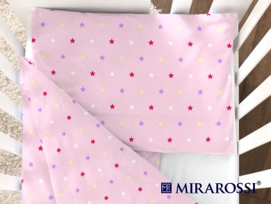 Постельное белье для новорожденных Stelle pink, фото 2