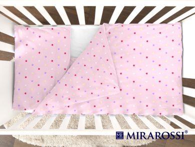 Постельное белье для новорожденных Stelle pink, фото 3