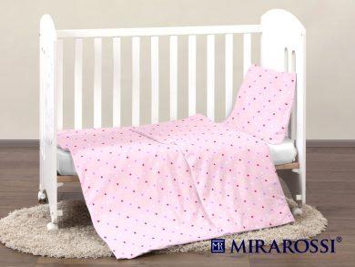 Постельное белье для новорожденных Stelle pink, фото 4
