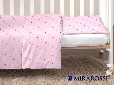 Постельное белье для новорожденных Stelle pink, фото 5