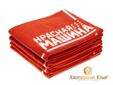 Полотенце банное 140х70 см Красная Машина, фото 3