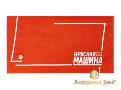 Полотенце банное 140х70 см Красная Машина, фото 4